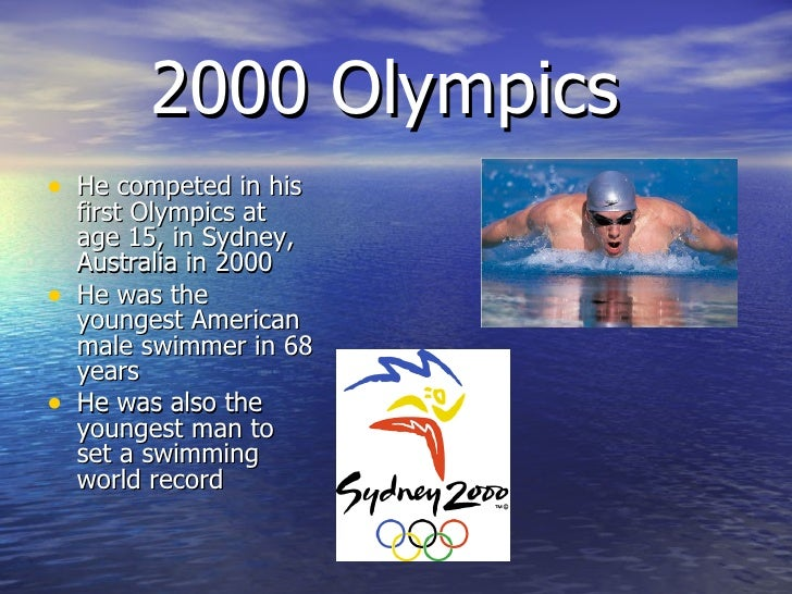 michael phelps first olympics 2000 sydney - photo#25