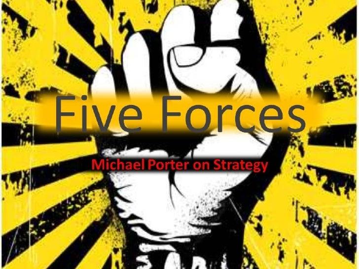 Michael Porter's Five Forces Model