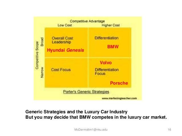 toyota generic strategy