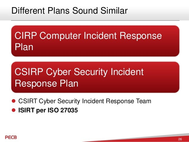 incident response policy example