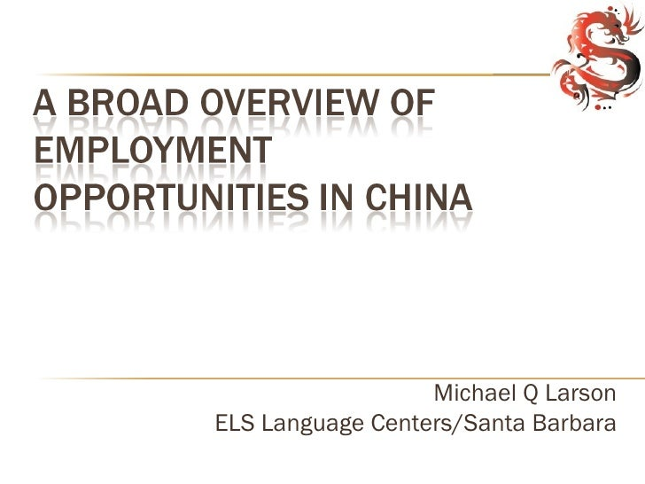 Michael Q LarsonELS Language Centers/Santa Barbara