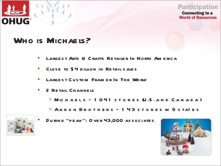 Michaels where creativity happens dallas ohug nov 4 2010 for Michaels crafts job application