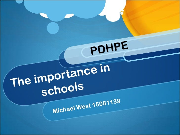 PDHPE encourages a range of skills and abilitiesto help growth and development