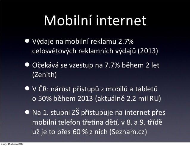 Reklama na mobilním webu Onlajny.com Slide 2