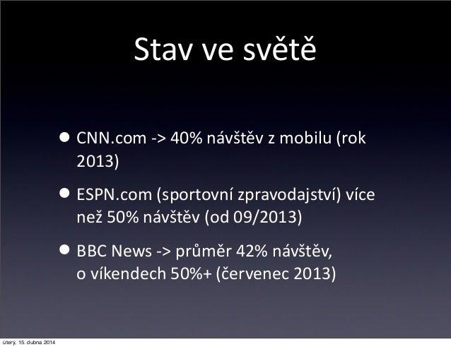 Reklama na mobilním webu Onlajny.com Slide 3