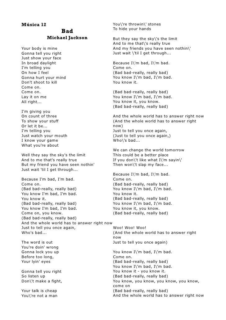 Lyric nasty janet jackson lyrics : Michal Jackson Lyrics Book I