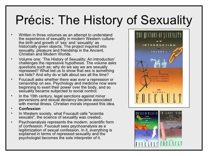 Foucault sexuality explained