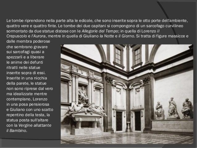 Le tombe riprendono nella parte alta le edicole, che sono inserite sopra le otto porte dell'ambiente, quattro vere e quatt...