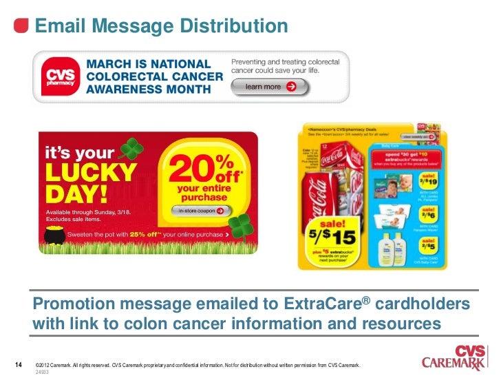 Michele Polgar Cvs Colon Cancer Awareness Campaign