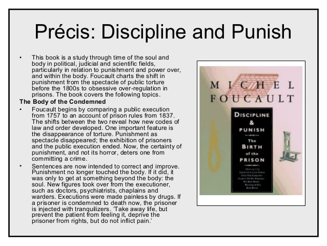 An analysis of the view of michael foucault on discipline