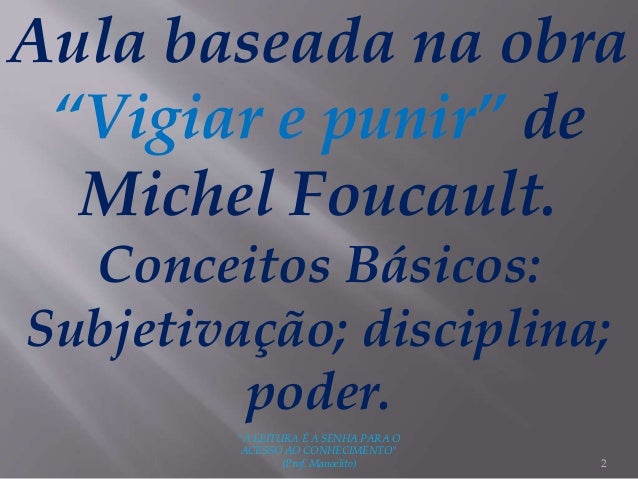 PUNIR FOUCAULT PDF MICHEL VIGIAR BAIXAR LIVRO E