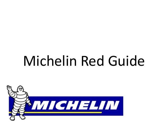 Michelin Red Guide