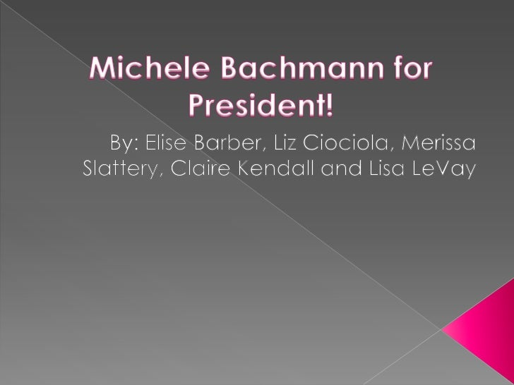 Michele Bachmann was born April 6, 1956 inWaterloo, Iowa – a point she emphasizesfrequently in her campaign for the presid...