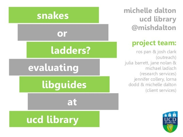 Image: Richard Lee https://www.flickr.com/photos/70109407@N00/2097402250/ snakes or ladders? ladders? libguides ucd librar...