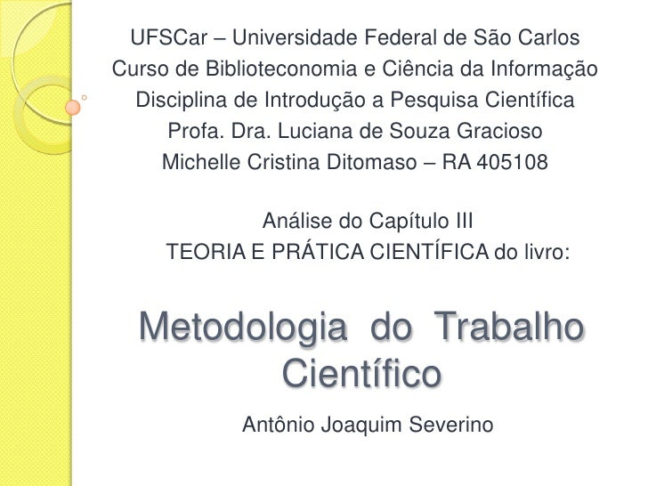 UFSCar – Universidade Federal de São Carlos<br />Curso de Biblioteconomia e Ciência da Informação<br />Disciplina de Intro...