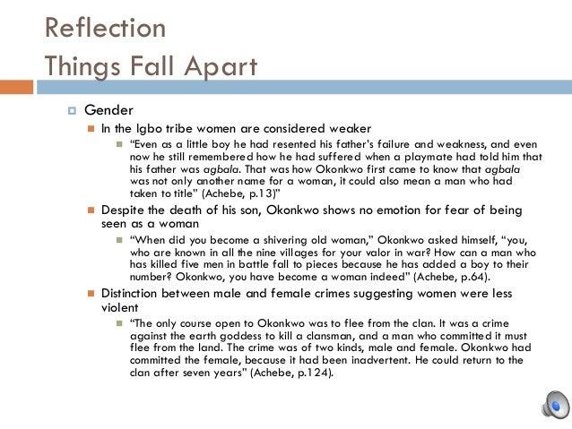Things Fall Apart Okonkwo Quotes