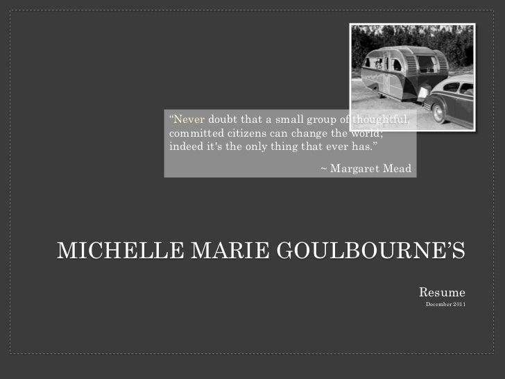 michelle goulbourne resume dec2011