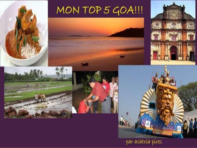 On peut dire que Goa est un petit bijoudans la couronne de l'Inde! Personne ne peutpas nier que cet état est un paradis po...