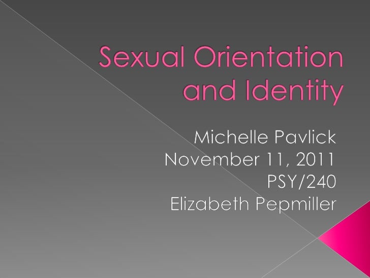 Paper and sexual orientation and custody