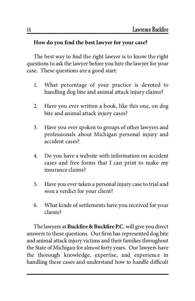 The Ultimate Michigan Dog Bite And Animal Attack Handbook