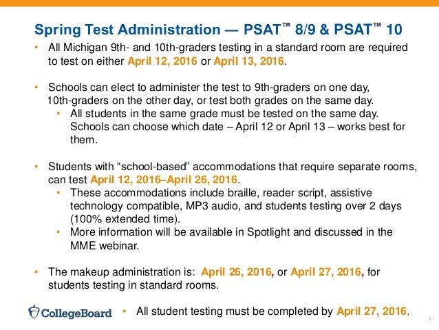 Michigan Implementation-overview-SAT-PSAT-10-PSAT-8-9