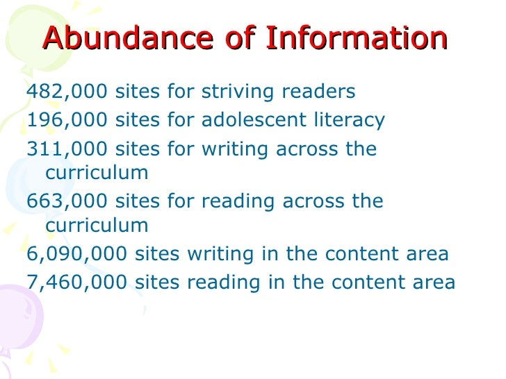 READING ACROSS THE CURRICULUM - PowerPoint PPT Presentation
