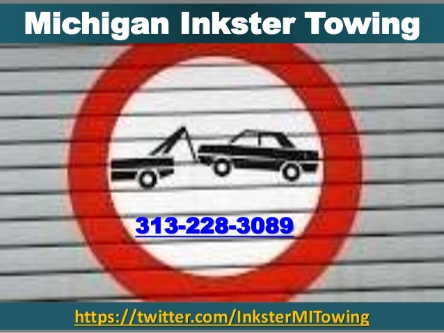 https://twitter.com/InksterMITowing Michigan Inkster Towing 313-228-3089