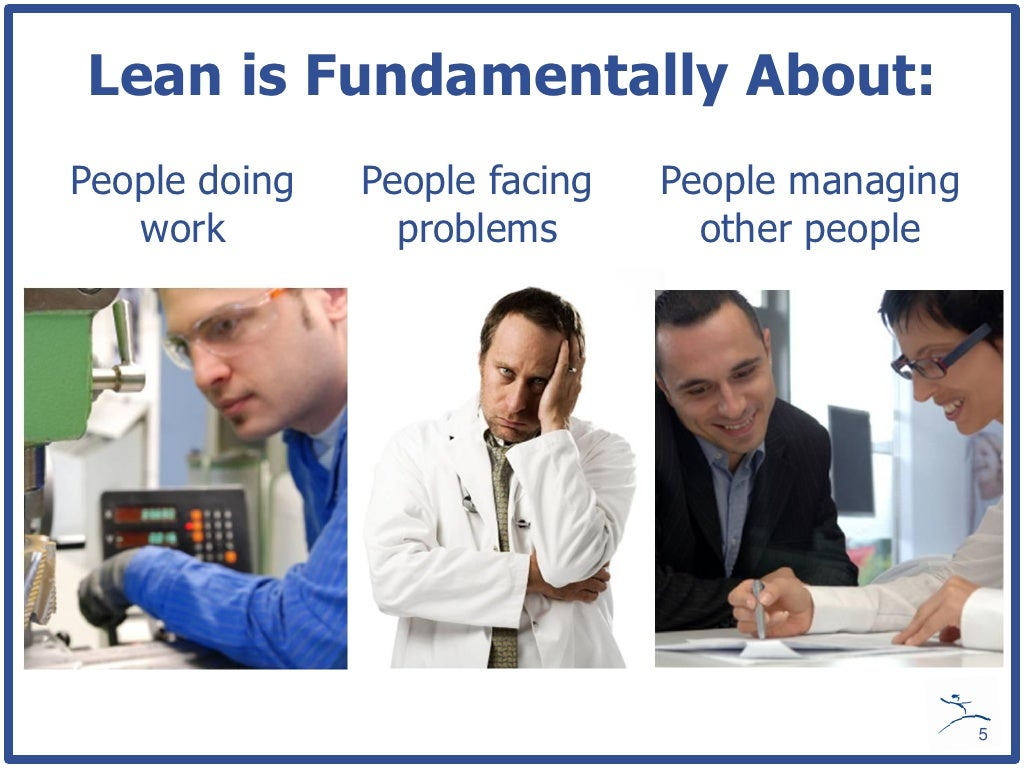 Lean is Fundamentally About: People