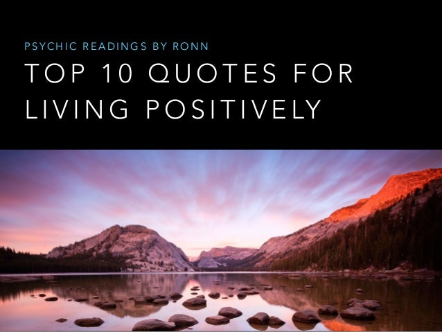 Michigan Psychics Inspirational Quotes