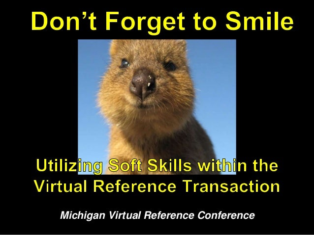Michigan Virtual Reference Conference