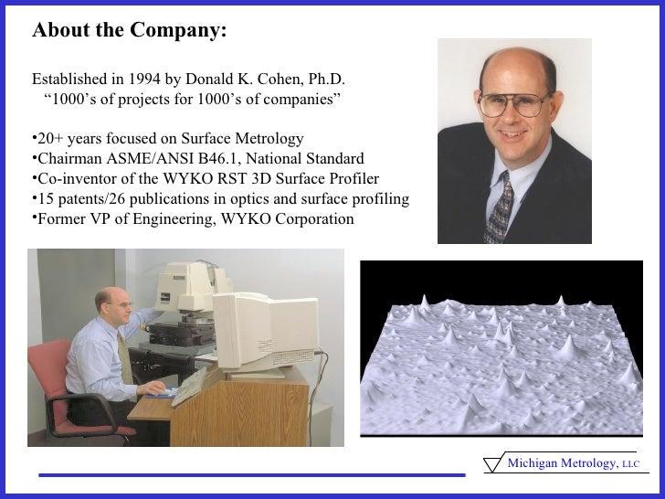 Mich Met Intro2009 Slide 2