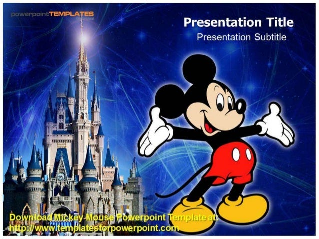 mouse  powerpoint template, Powerpoint