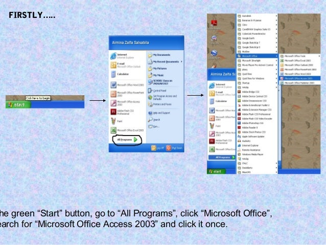 MS OFFICE ACCESS 2003 TUTORIAL PDF DOWNLOAD