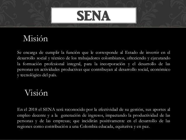 Mi contexto de formación en el SENA Slide 3