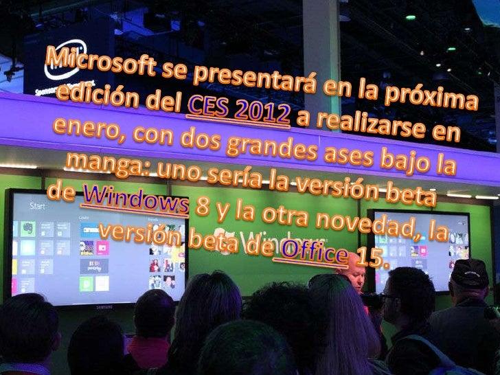 Micosoft avances tecnologicos