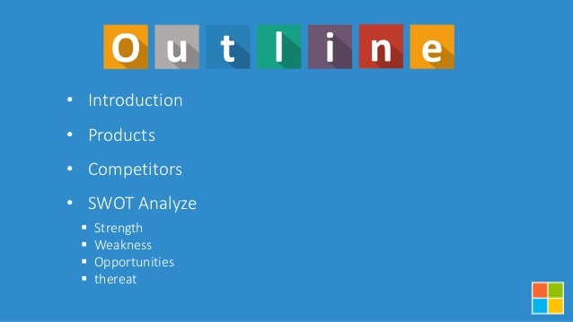 SWOT Microsoft PPT Slide 2