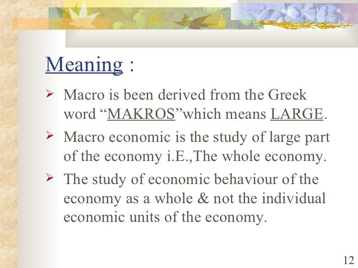 marco economics solution 1 chapter 1 what is macroeconomics overview in this chapter we show you what macroeconomics is about by looking at some of the big questions that macro-.