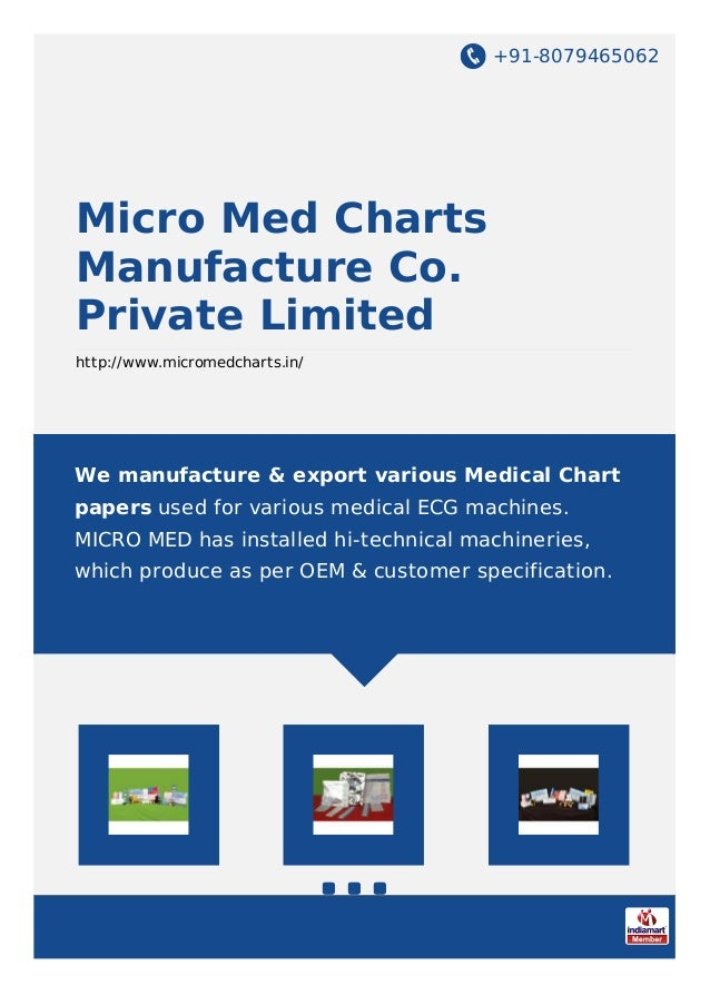 +91-8079465062 Micro Med Charts Manufacture Co. Private Limited http://www.micromedcharts.in/ We manufacture & export vari...
