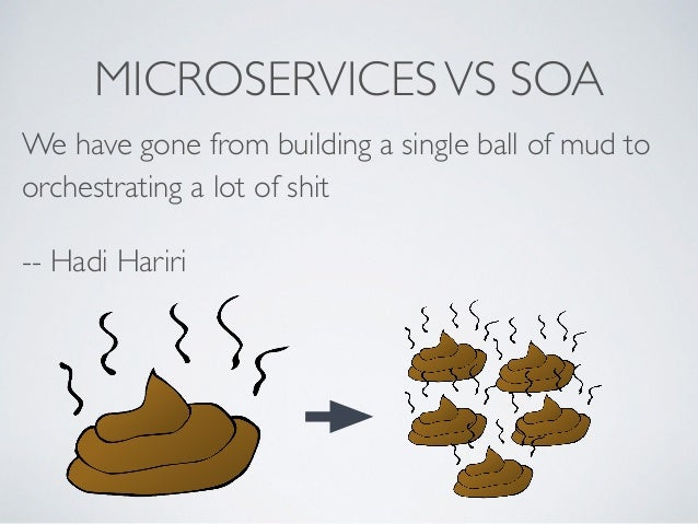 Monolith and microservices are both shit