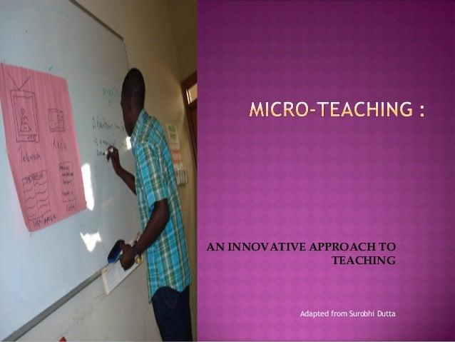 Micro Teach Art Ideas