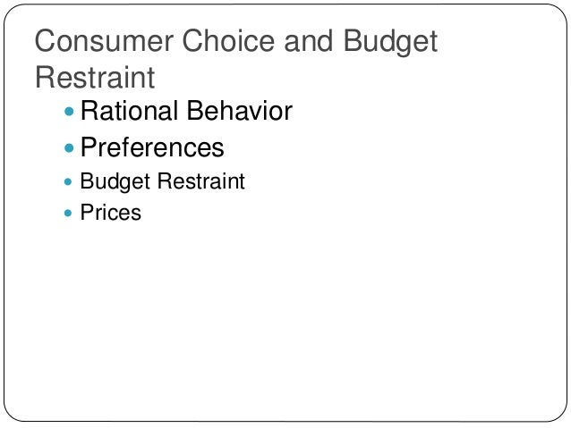 consumer society gives people choice discuss The specific choice along a ppf that reflects the mix of goods society most  in  this article, we'll examine the constraints faced by society using a model  in  particular, its slope gives the opportunity cost of producing one more unit  what  are the similarities between a consumer's budget constraint and society's  production.