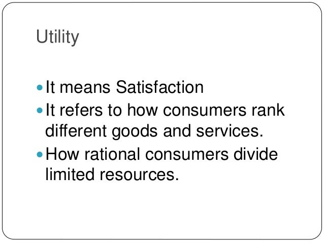 utility maximization View essay - utility maximizationdocx from his 121 at middlesex county college 1 the utility of a good or service: a is synonymous with usefulness b is the satisfaction or pleasure one gets.