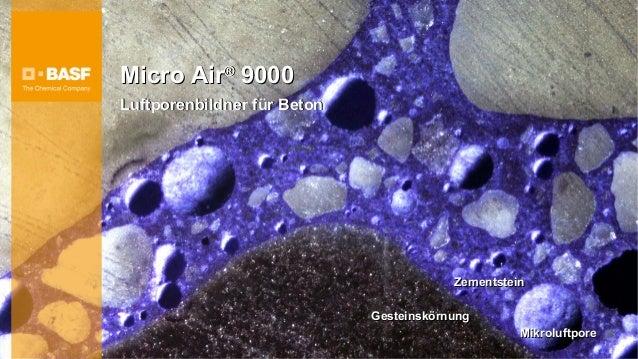 Micro Air® 9000Luftporenbildner für Beton                                         Zementstein                             ...