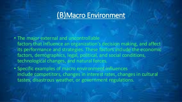 adidas micro macro environment Transcript of the macro and micro marketing environment  the macro-environment and the micro-environment  adidas leaving iaaf.