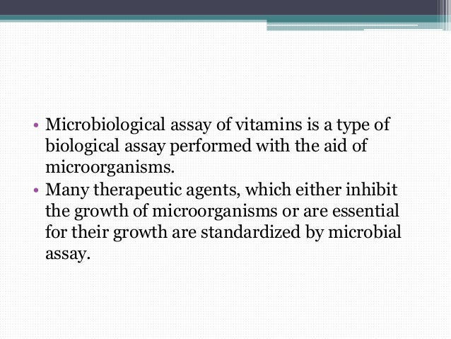 Microorganisms for microbiological assay of antibiotics youtube.