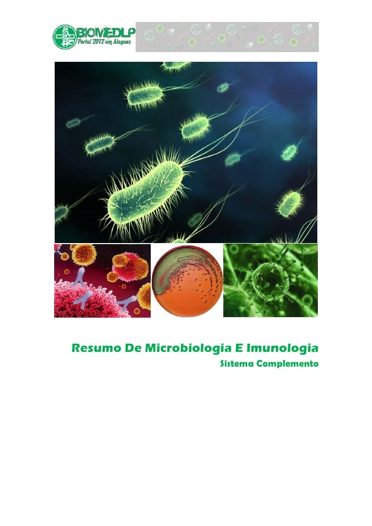 Resumo De Microbiologia E Imunologia                     Sistema Complemento