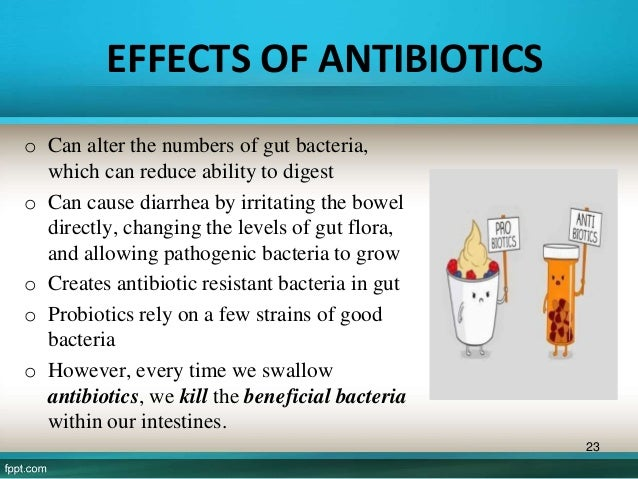 the effect of different antibiotics on bacteria Effects of different antibiotics on bacteria because of their small size, rapid rate of reproduction, and relatively simple structure, bacteria are excellent subjects for laboratory studies.