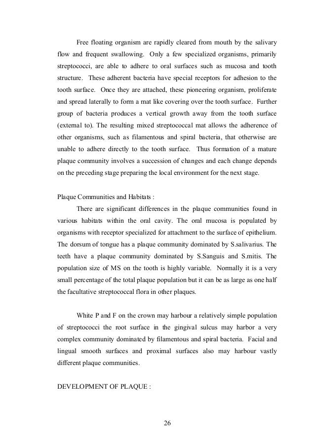 microbiology of dental caries pdf