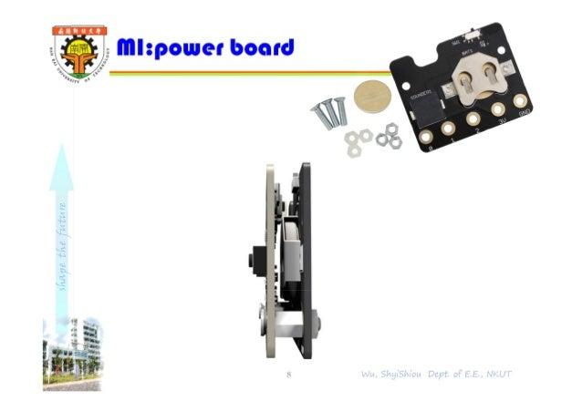 shapethefuture MI:power board 8 Wu, ShyiShiou Dept. of E.E., NKUT