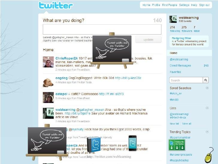 Microblogging Slide 3